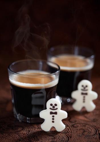 Рецепт                  Кофейный коктейль к Новому году