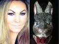 Девушка с помощью макияжа превратилась в пасхального зайца