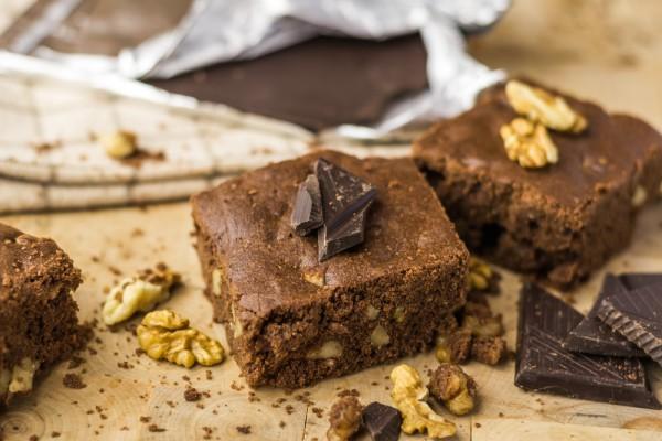 Рецепт                  Брауни с грецкими орехами