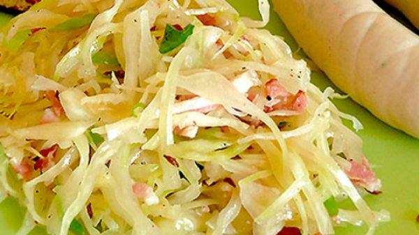 Рецепт                  Баварский салат из капусты