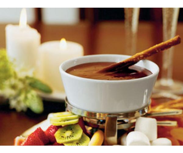 Рецепт                  Шоколадно-мятное фондю