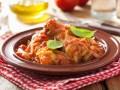 Курица с грибами и помидорами от Марты Стюарт