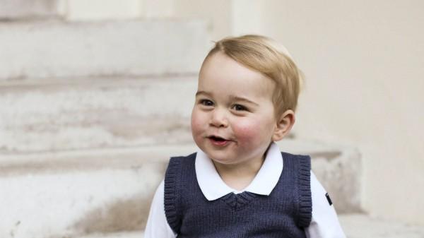 2-летний принц Джордж пойдет вшколу, где обучался отец