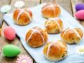 Пасхальная выпечка: Горячие крестовые булочки