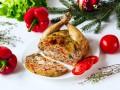 Блюда на Новый год: Фаршированная курица
