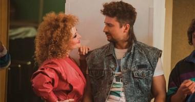 Лазарев презентовал странный клип из 80-ых в свой день рождения