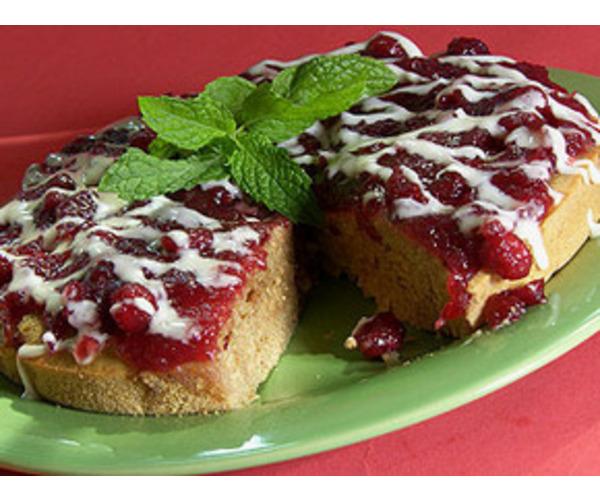 Рецепт                  Клюквенный торт