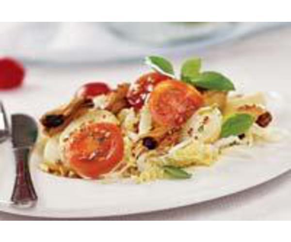 Рецепт                  Салат из китайской капусты с мидиями