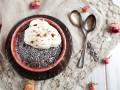 Как приготовить кекс в кружке с карамелью и печеньем