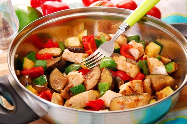 рататуй с куриным филе рецепт в духовке
