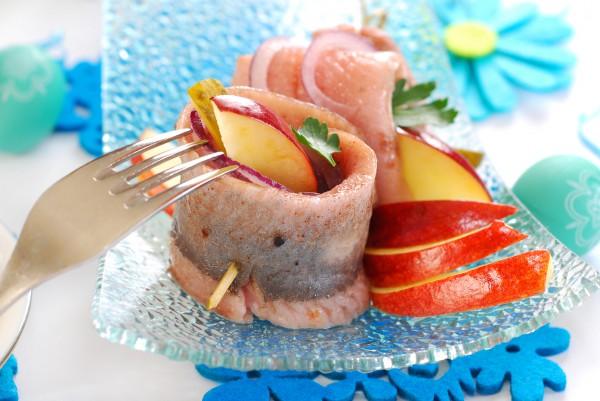 Рецепт                  Пасхальная закуска из сельди