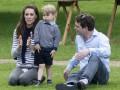 Принц Уильям и Кейт Миддлтон с детьми посетили лошадиные бега