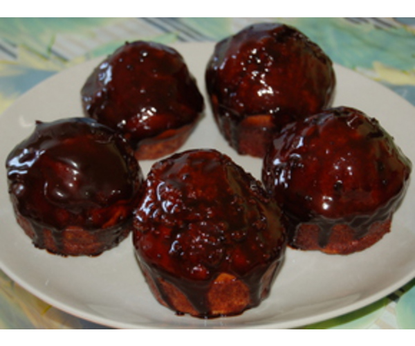 Рецепт                  Шоколадная баба с орехами