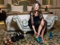 Жанна Бадоева представила первую линейку своего обувного бренда