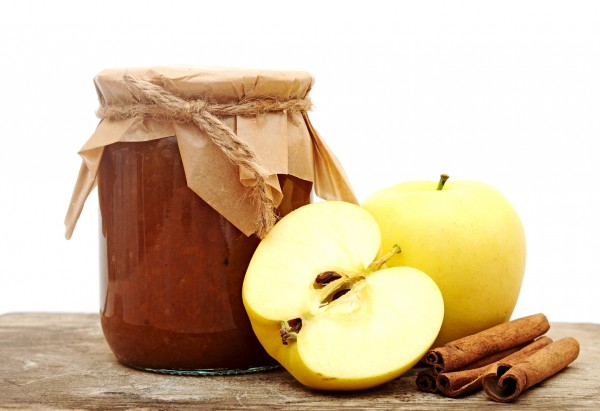 Рецепт                  Яблочное повидло с корицей