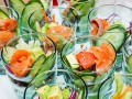 Салаты на 8 марта: Рецепт с лососем, авокадо и огурцами