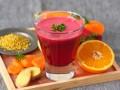 Детокс-коктейль из свеклы, имбиря и апельсинов