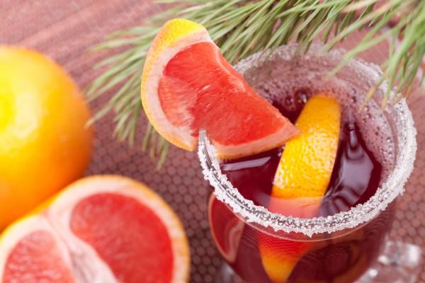 Рецепт                  Безалкогольный ягодный глинтвейн с фруктами