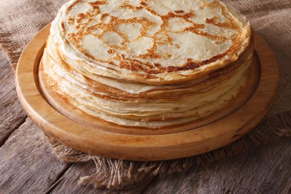 Рецепт                  Масленица 2015: Рецепт блинов на воде без яиц