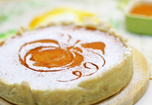 Рецепт                  Тыквенный пирог с изюмом и апельсинами