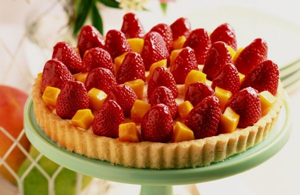Рецепт                  Клубничный пирог: ТОП-5 рецептов