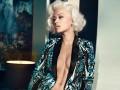 Рита Ора примерила сексуальный образ Монро для кампании Roberto Cavalli