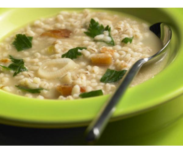Рецепт                  Перловый суп