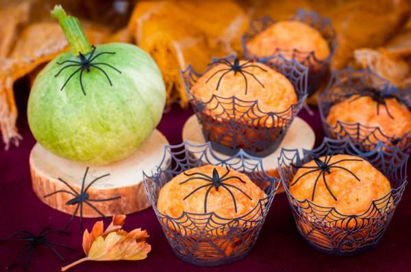 Рецепт                  Рецепты на Хэллоуин: Тыквенные маффины