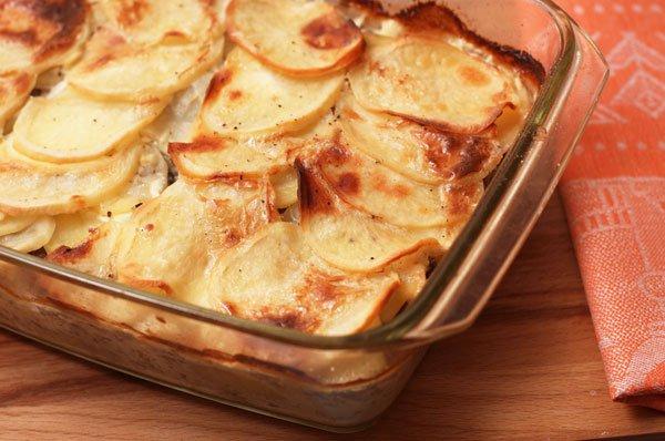 Рецепт                  Картофельная запеканка с фаршем