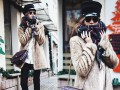 Стильные образы для зимы: Street style