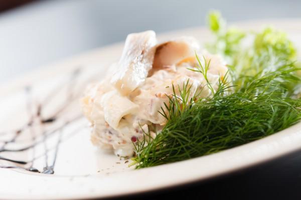 Рецепт                  Салат из сельди с картофелем
