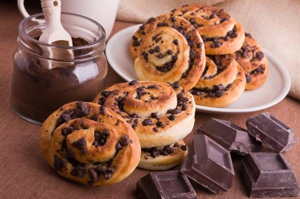 Рецепт                  Французские булочки с шоколадом