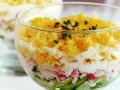 Салат из огурцов с тертым сыром