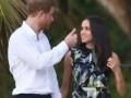 В Сеть попали фото принца Гарри и Меган Маркл на свадьбе