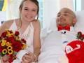 В болезни и здравии: видео свадьбы больного раком парня попало в Сеть