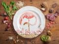 Птицы в тарелке: Фуд-арт от Анны Кевилл Джойс