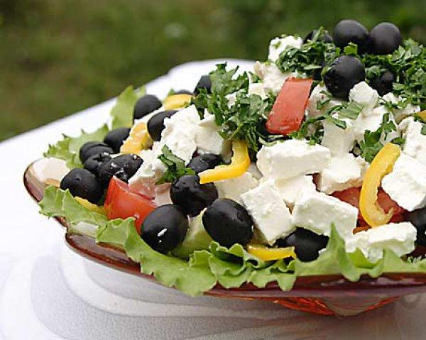 Рецепт                  Греческий салат