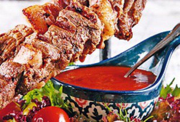 Рецепт                  Пряный шашлык из свинины