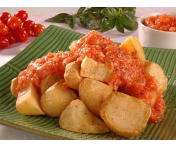 Рецепт                  Картофель с томатным соусом