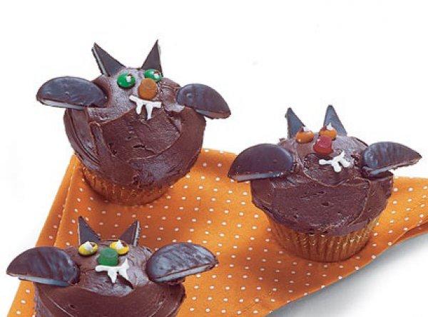 Рецепт                  Кексы Летучие мыши на Хэллоуин