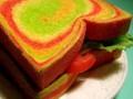 Как приготовить разноцветный постный хлеб (ВИДЕО)