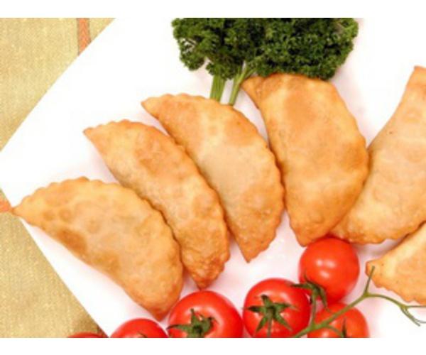 Рецепт                  Чебуреки с сыром и зеленью