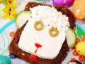 Детский Новый год: Праздничные блюда в виде овечки
