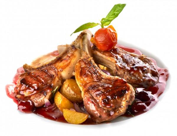 Рецепт                  Рецепты на Новый год: Свинина с вишневым соусом