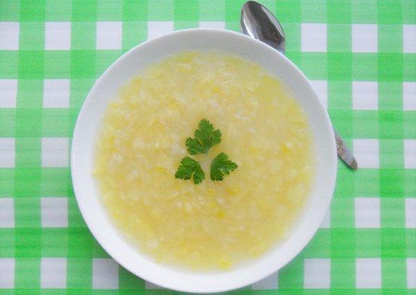 Рецепт                  Парижский картофельно-луковый суп