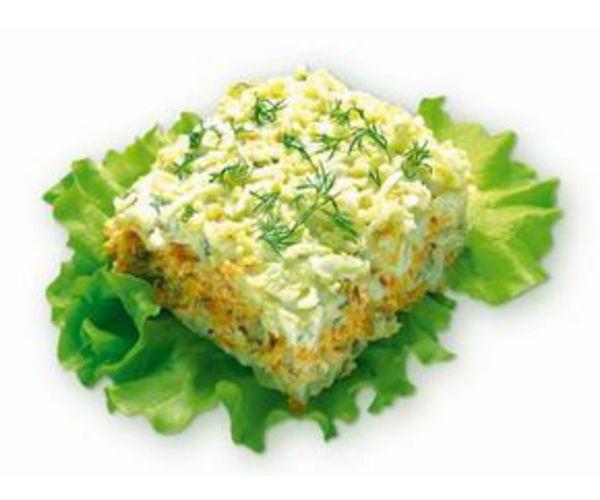 Рецепт                  Как приготовить праздничный салат Мимоза