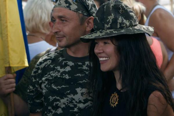 Руслана поддержала украинских военных