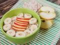 Как приготовить овсяную кашу с фруктами в микроволновке