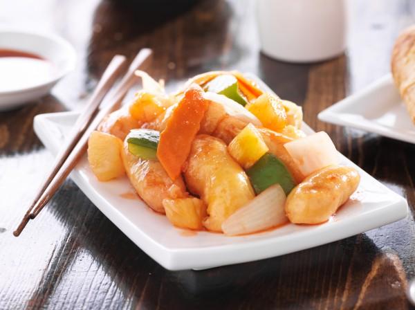 Рецепт                  Китайский Новый год 2015: Курица в кисло-сладком соусе