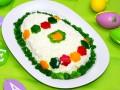 Как приготовить салат Пасхальное яйцо